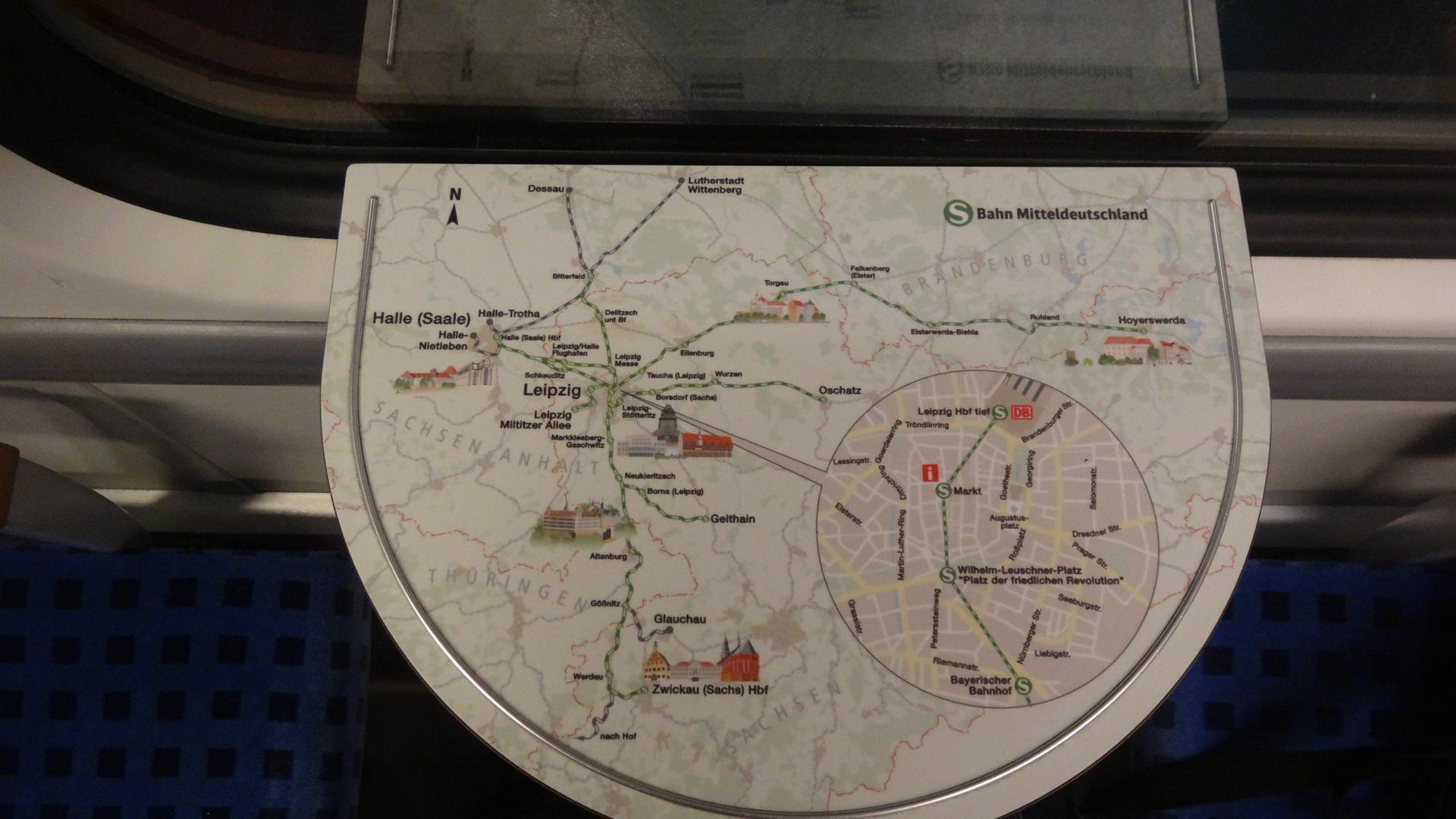 S-Bahn Mitteldeutschland network