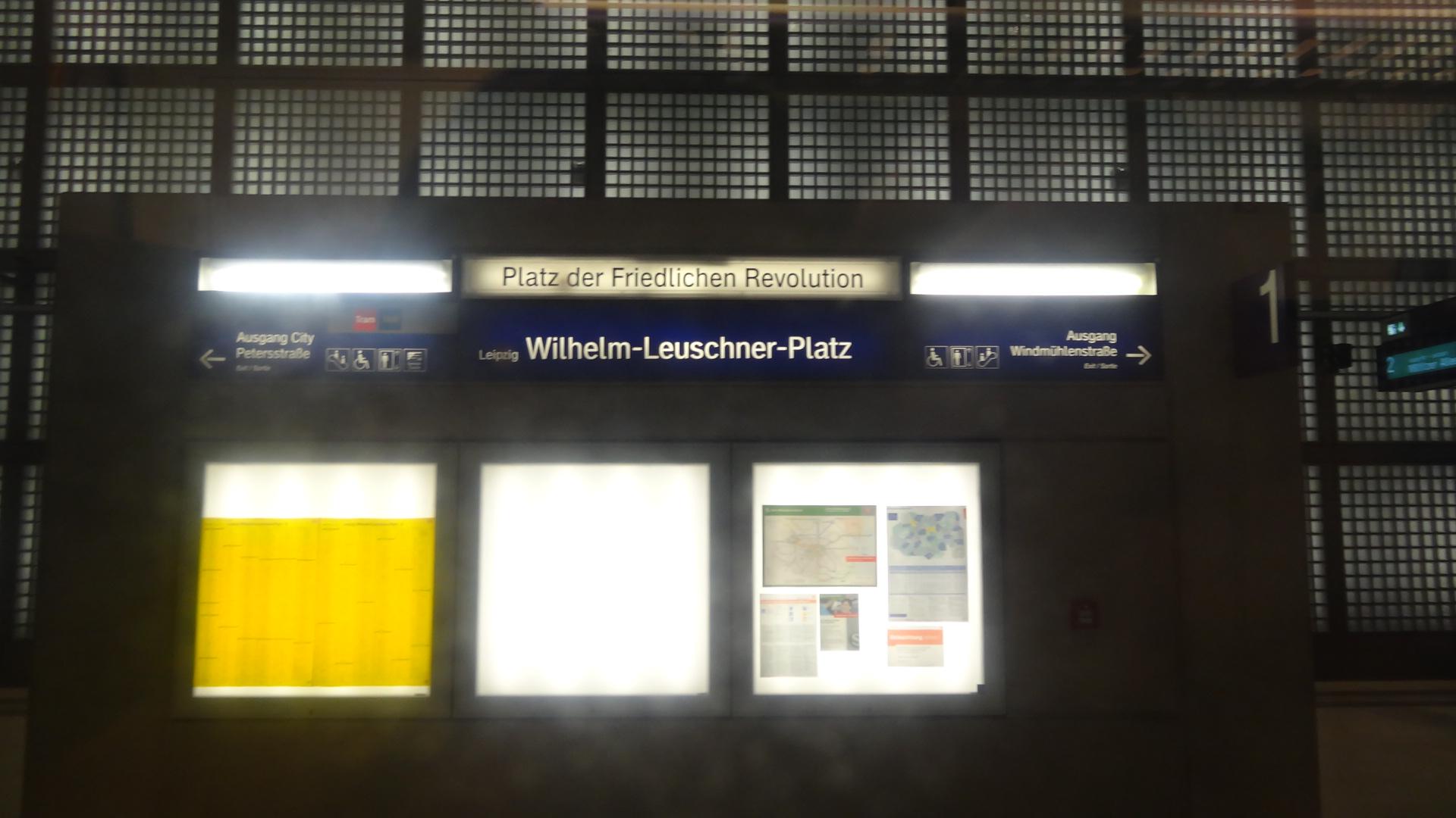 Wilhelm-Leuschner-Platz interior