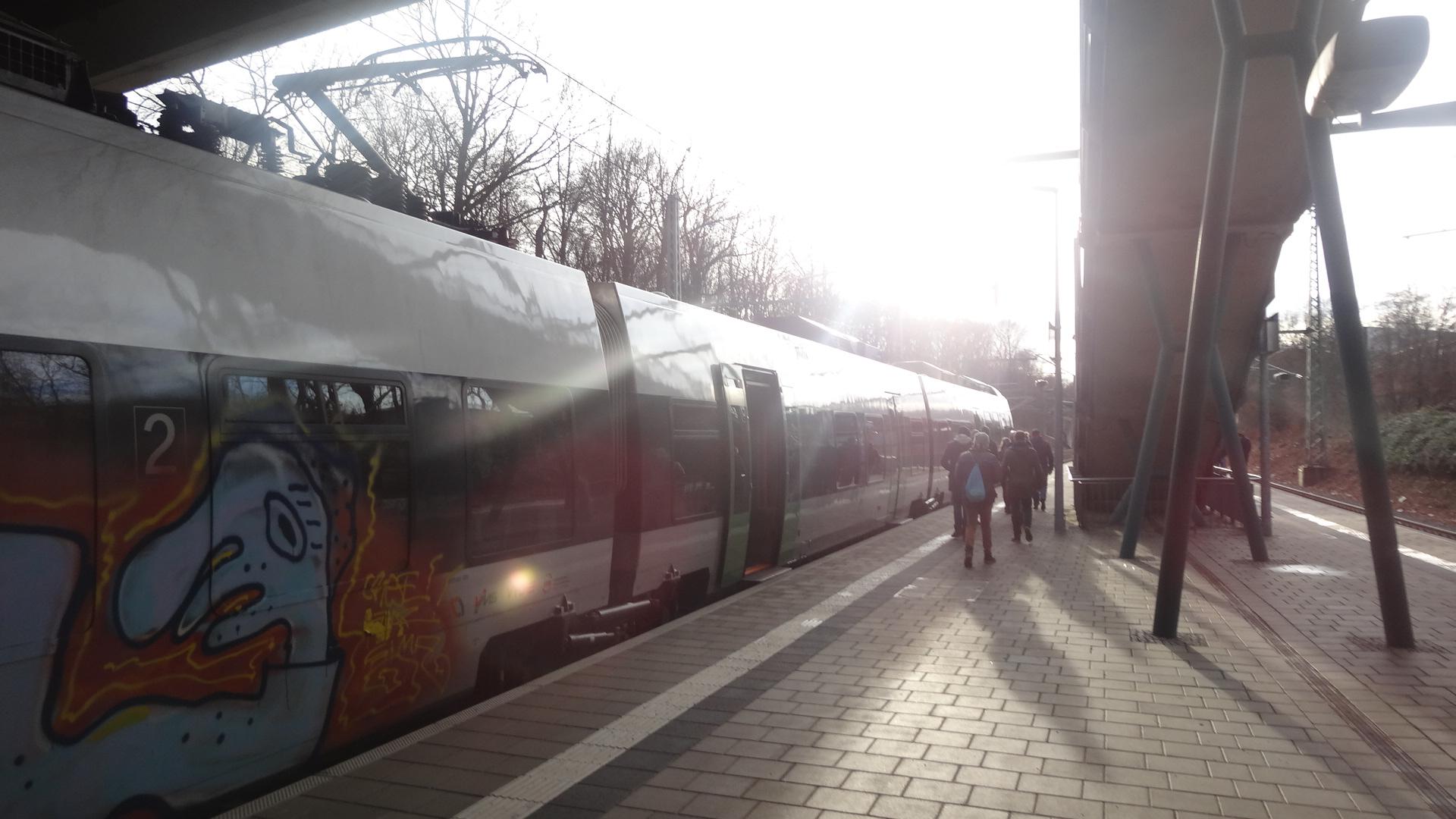 Leipzig Völkerschlachtdenkmal station