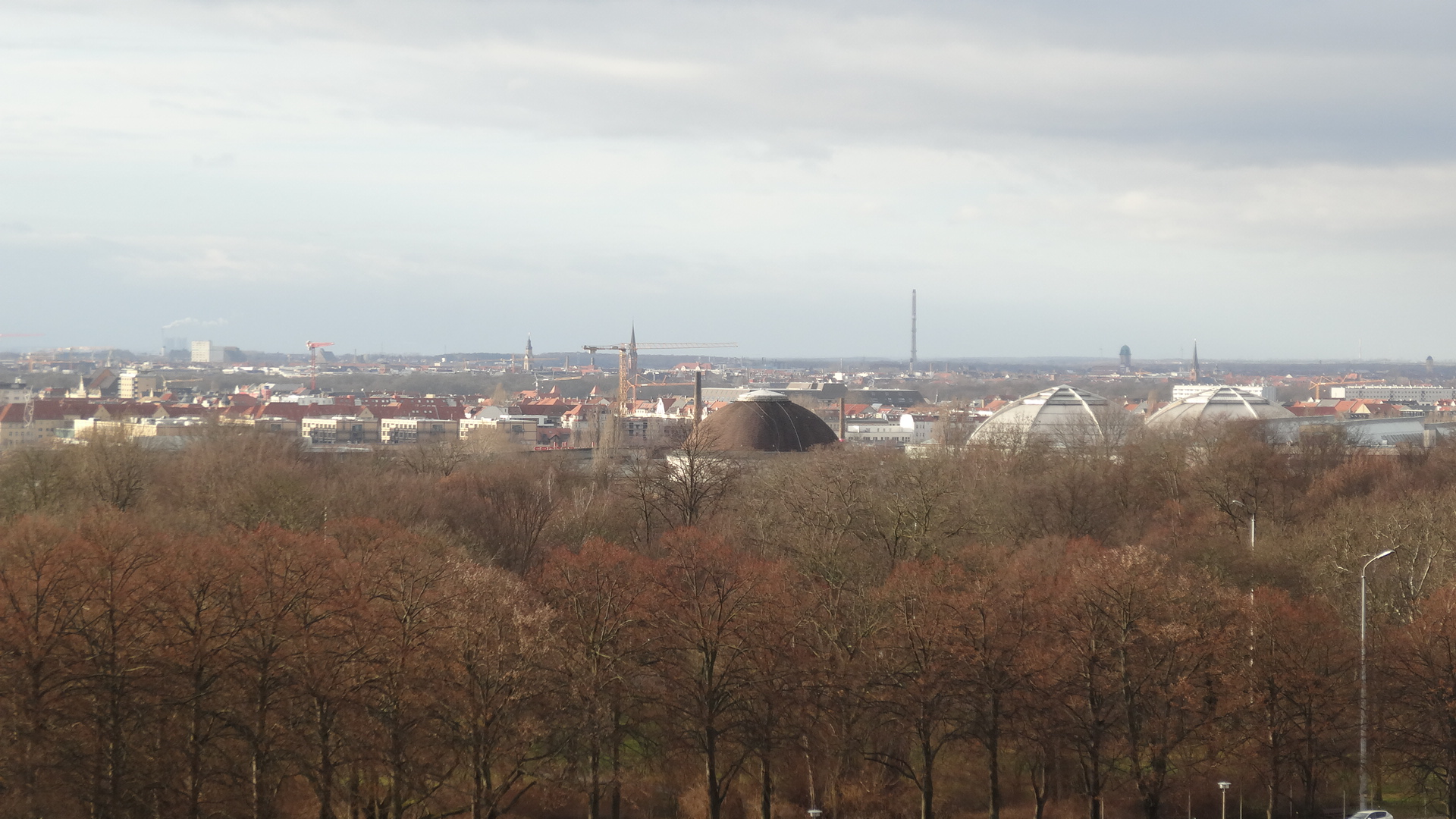 View across Leipzig