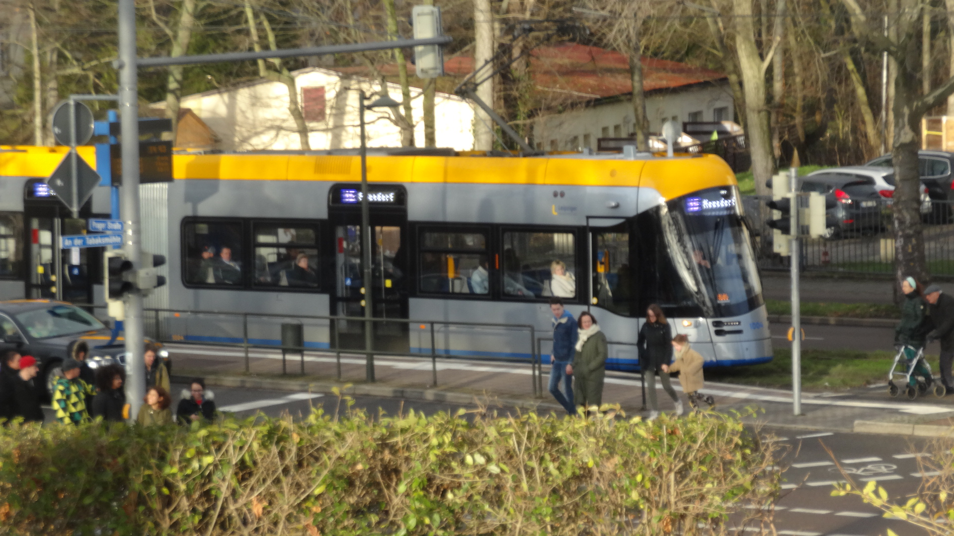 Newest tram