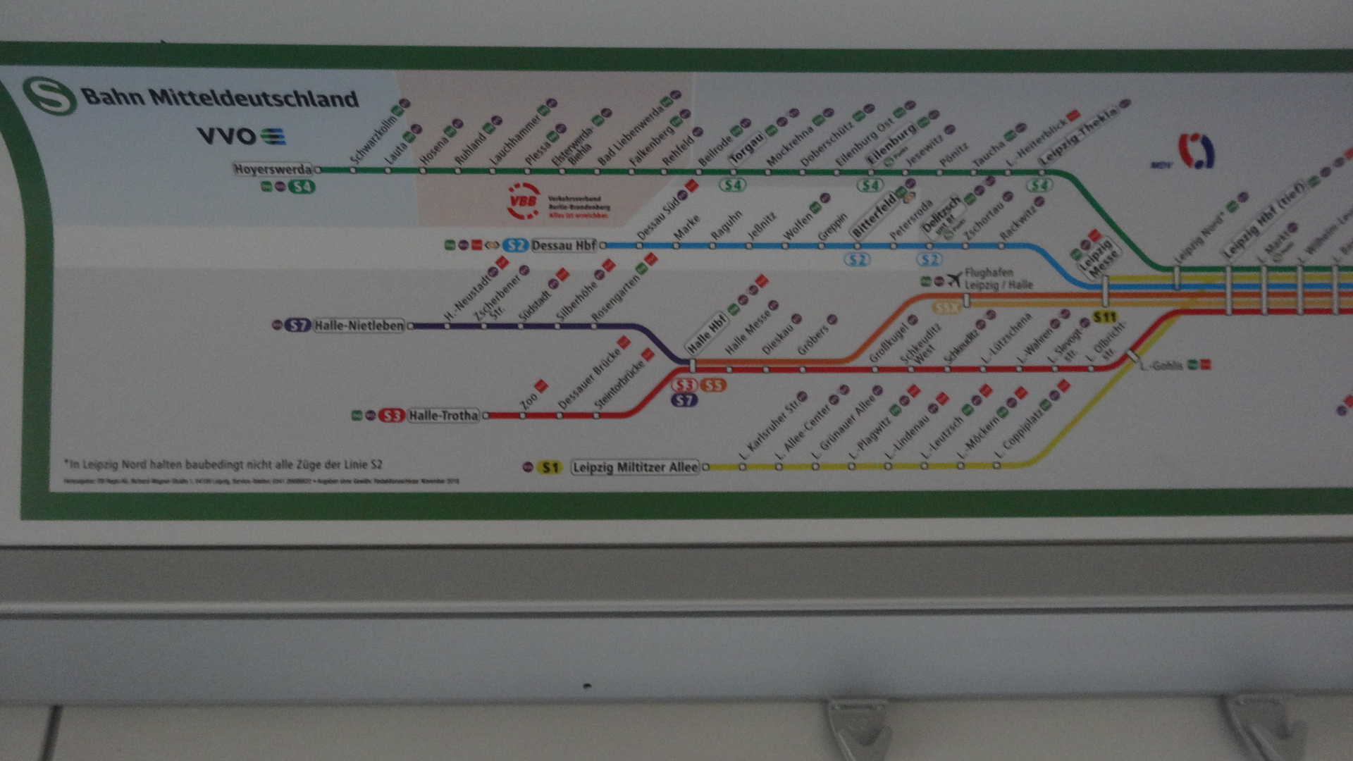 S-Bahn network part 1