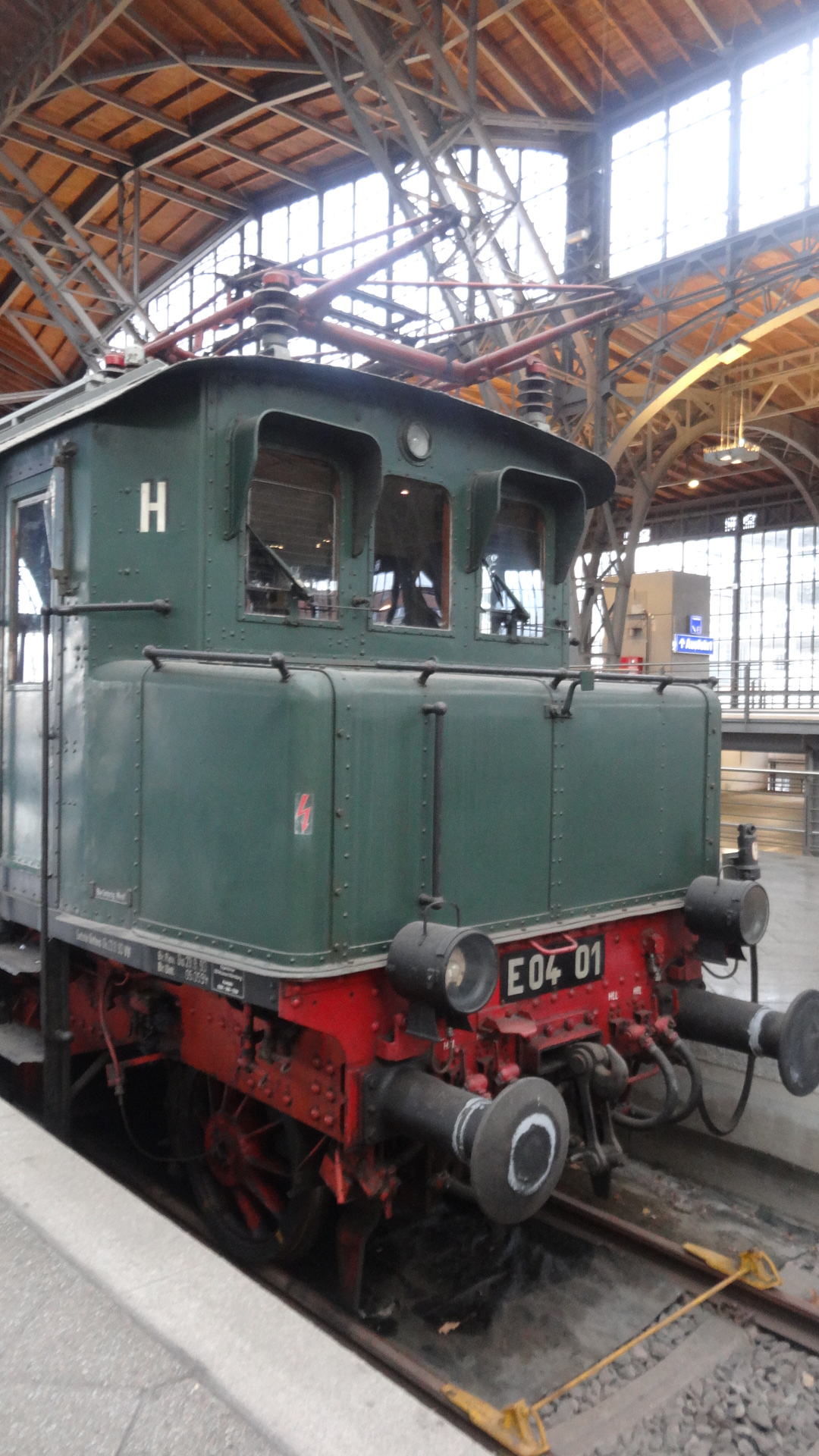 historic electronic locomotive E04-01