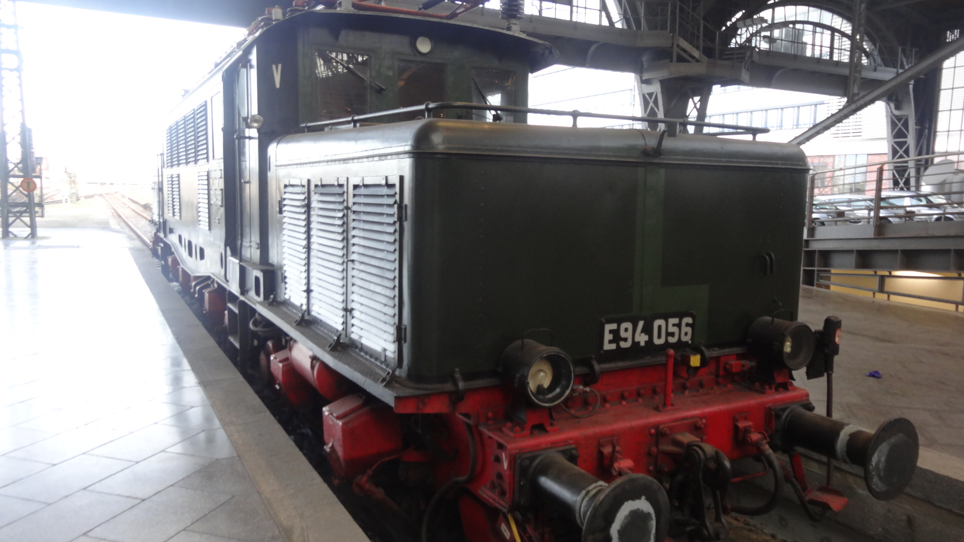 historic electronic locomotive E94-056