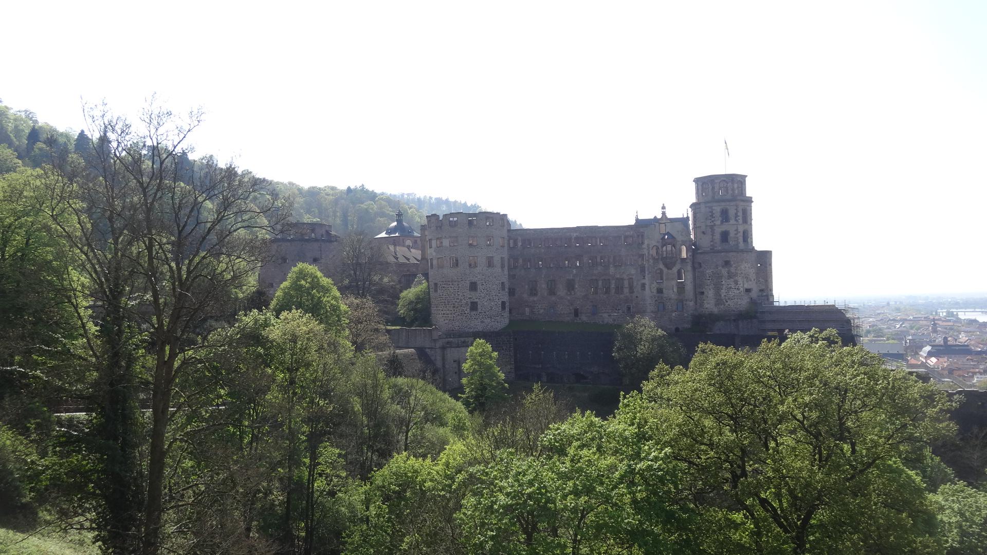 Ostfassade des Schlosses