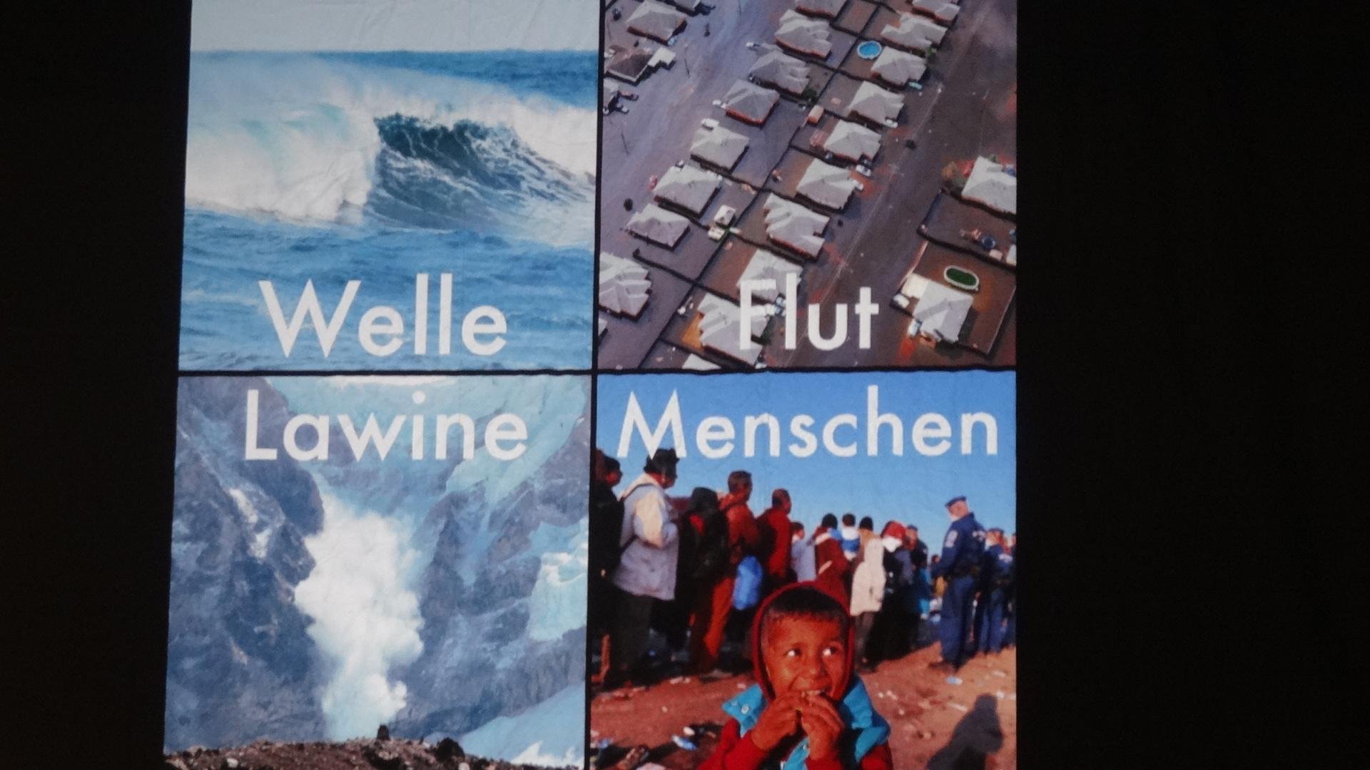 Menschen sind keine Welle, Lawine oder Flut
