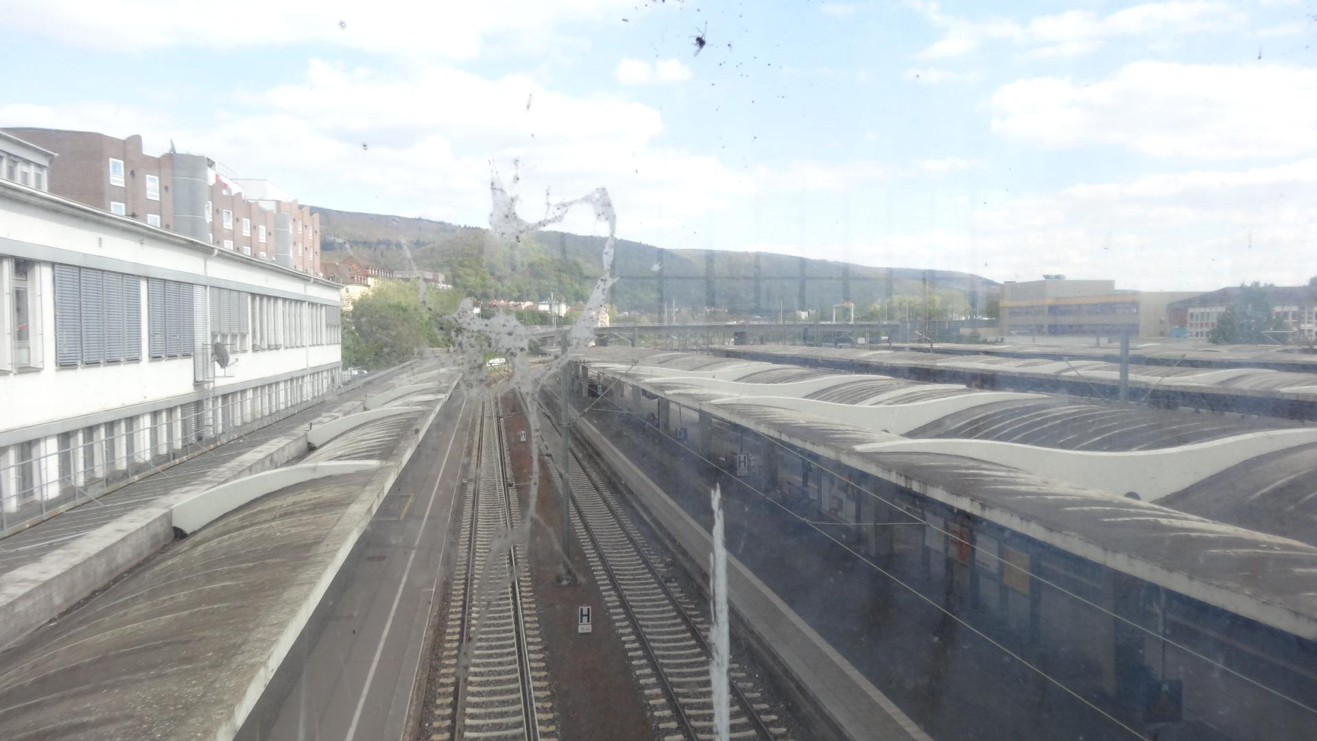 Heidelberg Hbf Richtung Süden/Osten
