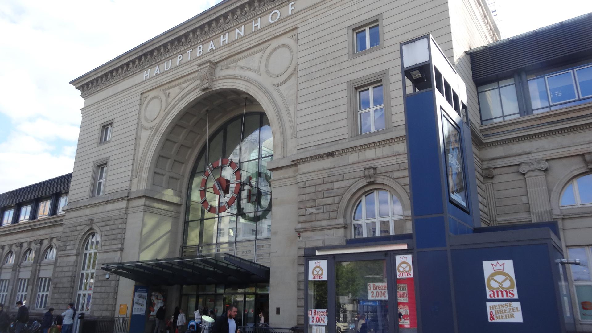 Mannheim Hbf Eingangsportal